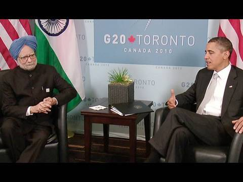 President Obama & Prime Minister Singh at G20 Summit