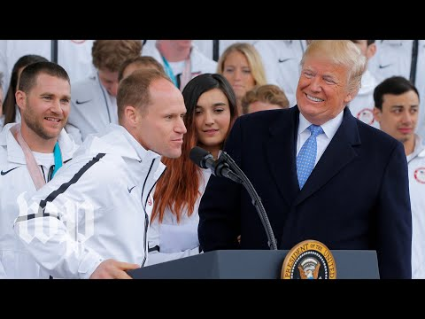 Trump: Paralympics was 'tough to watch'