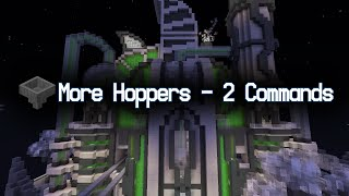 [Contraption] 4 New Hoppers in only 2 Commands! (Sorting hoppers, Distribution Hoppers and more!)