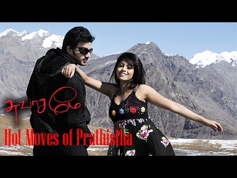 Hot Moves of Prathistha from Tamil Film Swasame