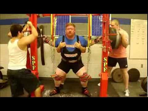Henry Thomason Powerlifting Squat Training 8/11/13 - 7w USPA Mr. Olympia Image 1