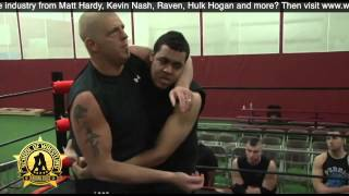 Training with Goldust Dustin Rhodes In The Ring Seminar