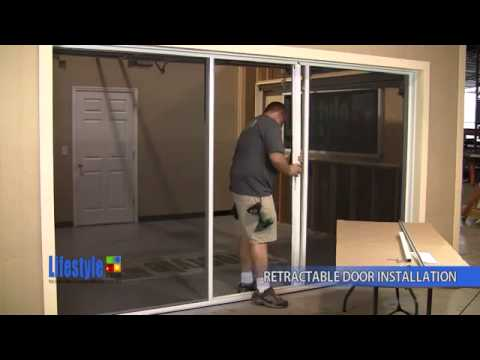 -Review-Retractable Screen Door Installation