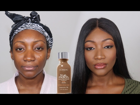 L'OREAL TRUE MATCH FOUNDATION   Demo. Review + GIVEAWAY !!!