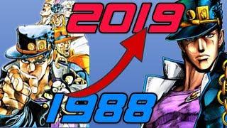 History/Evolution of JoJo's Bizarre Adventure Games (1988-2018) [1080p60fps]