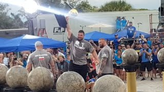 MARTINS LICIS WINS THE ATLASSTONES & THE WORLD'S STRONGEST MAN 2019