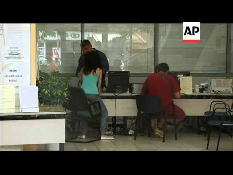 Venizelos receives mandate for coalition talks, unemployment rises