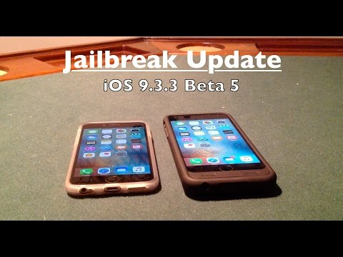 iOS 9.3.3 Beta 5 Release + iOS 10, 9.3.2 Jailbreak Update!