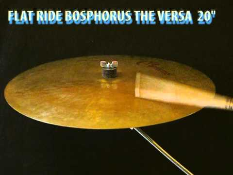 "Bosphorus The Versa flat ride 20"" cymbal"