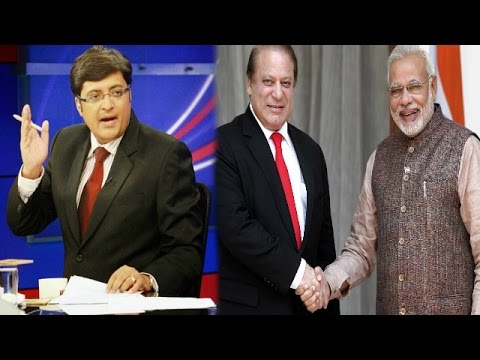 The Newshour  Debate: Nawaz Sharif Vs Narendra Modi - Full Debate (14th August 2014)