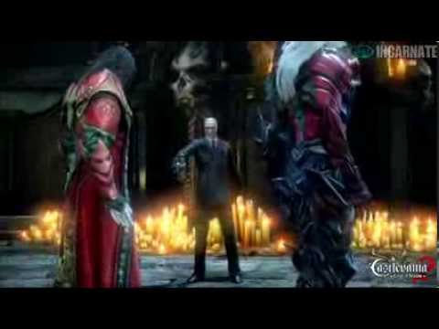 Castlevania Lords of Shadow 2 Gabriel Remembers Alucard Cutscene