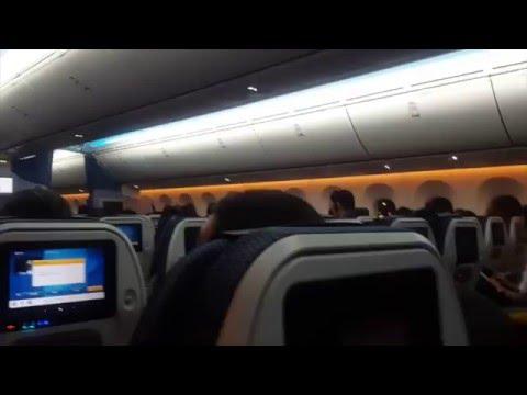 All Nippon Airways MNL - HND Flight Experience (02/10/16) Boeing 787-8 (JA874A)