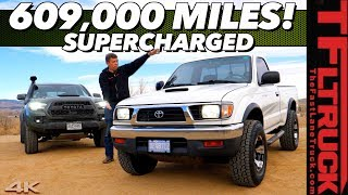 Bulletproof-This Supercharged 1997 Toyota Tacoma with 300 HP has over 600,000 Miles!