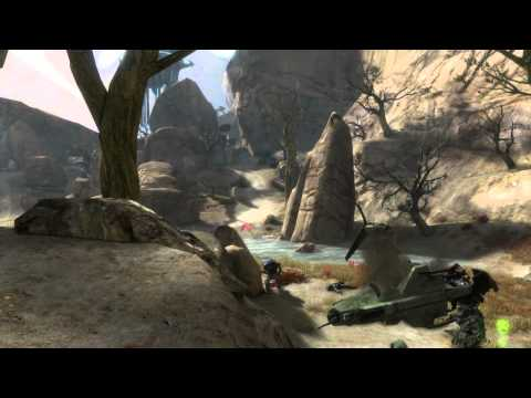Halo Reach Legendary Single Player Walkthrough Winter Contingency Part