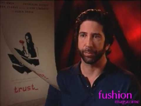 TRUST movie interviews w/ Clive Owen David Schwimmer Liana Liberato