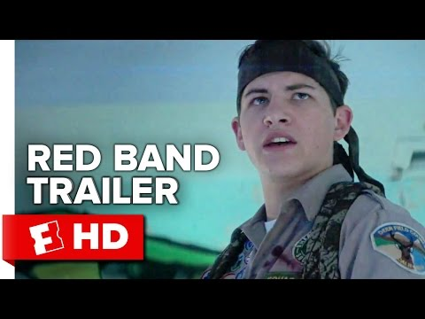 Scouts Guide to the Zombie Apocalypse Official International Red Band Trailer #1 (2015) - Movie HD