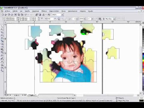 hacer puzzle en coreldraw.wmv