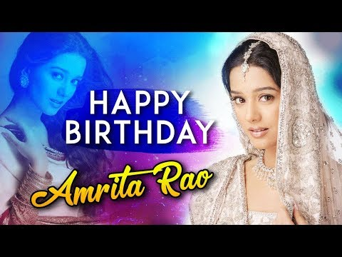 Happy Birthday Amrita Rao | Best Scenes Of Amrita Rao | Vivah & Love U Mr. Kalakaar | Best Of Amrita