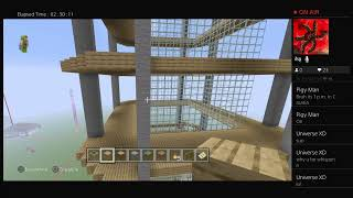 Minecraft creative stream #10 : working on my project
