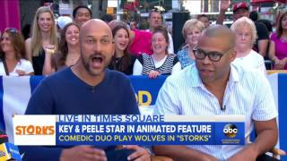 Key and Peele Interview on 'Storks'