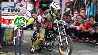 Aksi LIAR Dicky GA Menghempaskan Lawan2nya Dengan Menembus BEST TIME ; Pemalang BSMC Drag Bike 2016