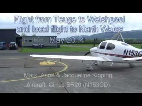 Flight to Welshpool and North Wales