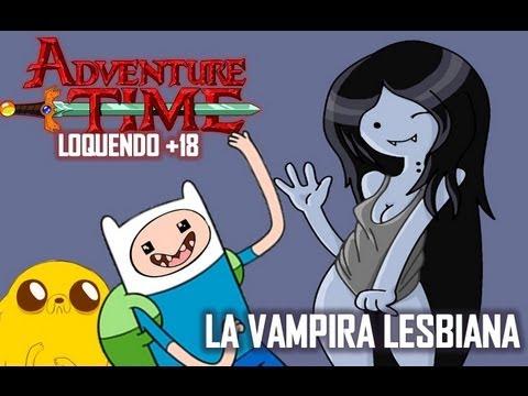 Hora de aventura Loquendo La vampira lesbiana