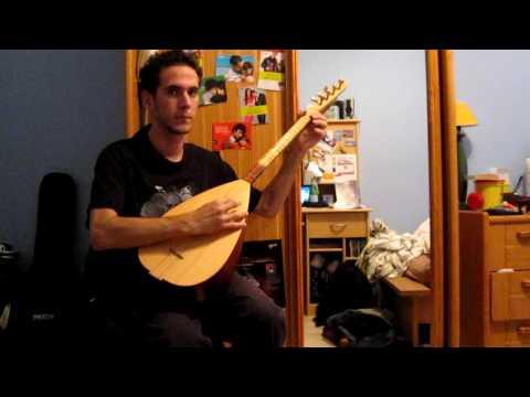 Insorior's THE TEMPLE OF LUNAR ASCENSION - Karl Sanders baglama saz cover