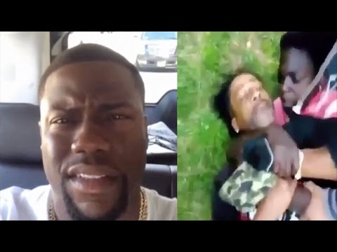 Kevin Hart Clowns Katt Williams For Getting Beat Up By A Kid