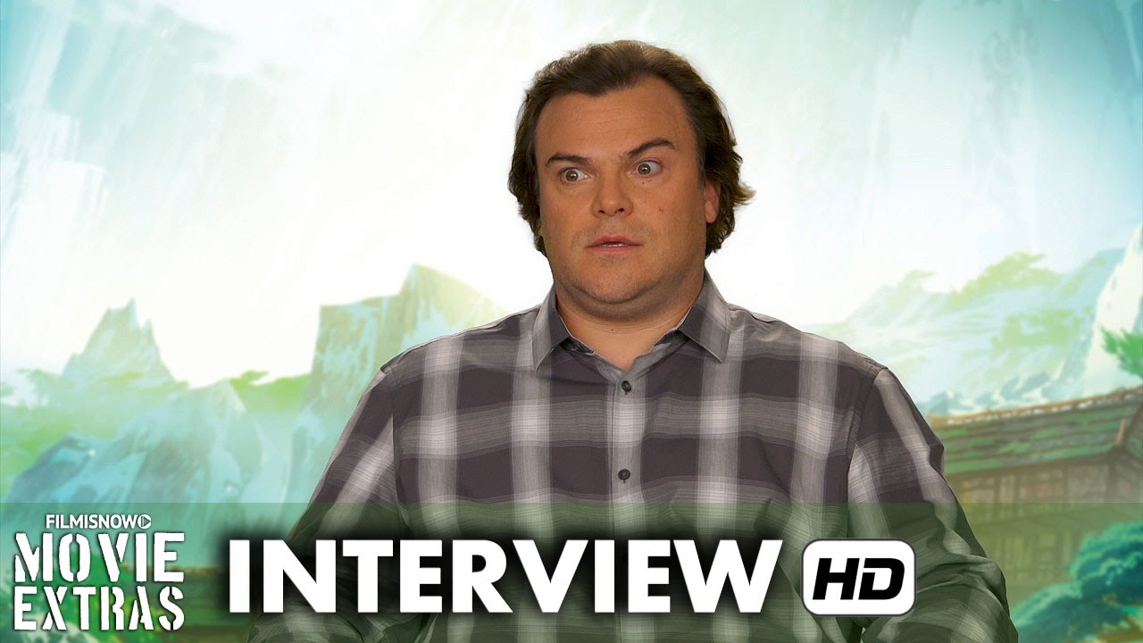 Kung Fu Panda 3 (2016) Behind the Scenes Movie Interview - Jack Black is 'Po'