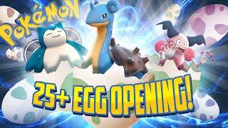 POKEMON GO - INSANE 25+ EGG OPENING (2K, 5K, 10K EGGS)