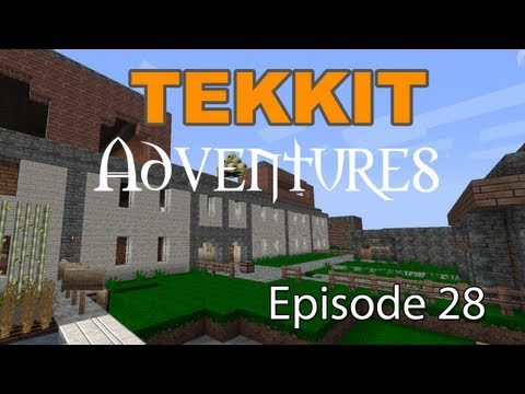 "Tekkit Adventures - Episode 28 ""Fire and Snow"""