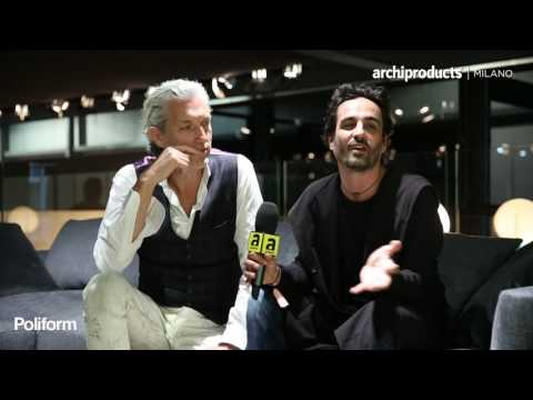 Salone del Mobile.Milano 2016 | POLIFORM - Marcel Wanders, Gabriele Chiave