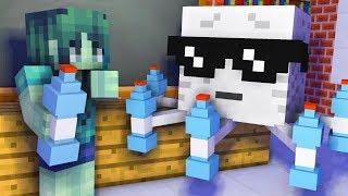 Monster School Girls Vs Boys Bottle Flip Challenge Part 2 Minecraft Animation