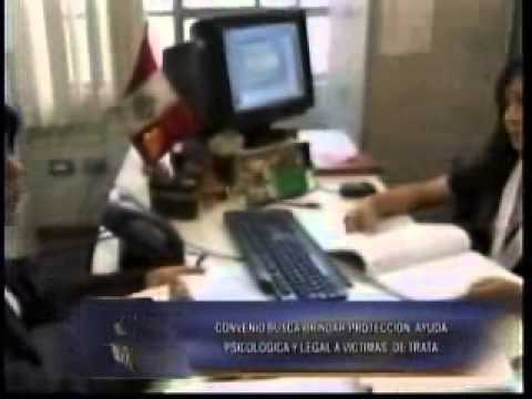 Ministerio Público y Ministerio de la Mujer firmaron acuerdo institucional (Canal 5)