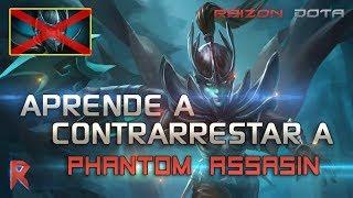 🚷 Aprende a contrarrestar a Phantom Assassin - Raizon Dota