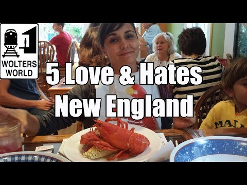 Visit New England - 5 Things You Will Love & Hate about New England, USA