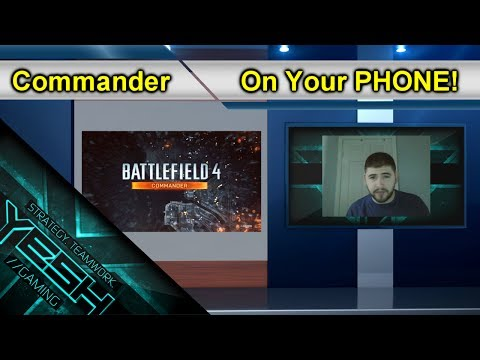 Get Commander App On Your Android PHONE!