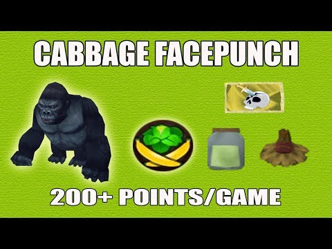 [Runescape 3] Cabbage Facepunch Guide 2017 | FAST Points Strategy!