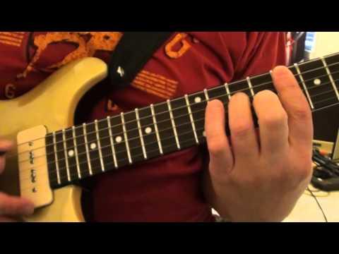 Keith Richards Riff - Brown Sugar Lesson