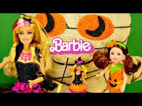 NEW 2014 Halloween Barbie Dolls Trick or Treat Barbies Costume by Disney Cars Toy Club
