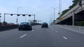 Ville Marie Expressway (Autoroute 720) westbound [ALTERNATE TAKE 2]