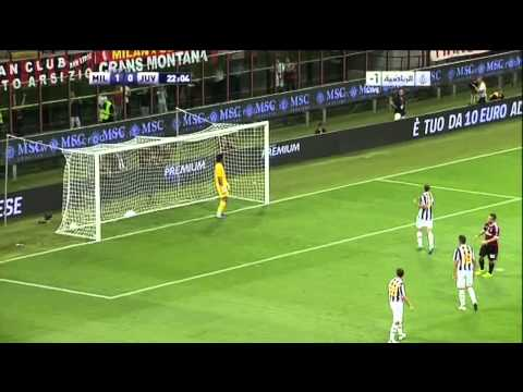 Seedorf Goal on Juventus - 21/08/2011