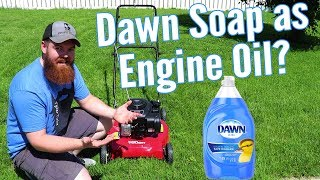 Can You Use Soap As Engine Oil?