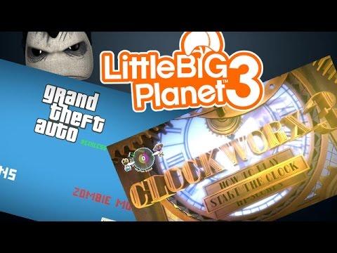 Grand Theft Auto: Reckless Adventures & Clockworx 3 [Community Levels] Little BIG Planet 3