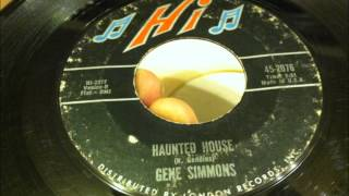 Gene Simmons , Haunted House , 1964 Vinyl 45 RPM