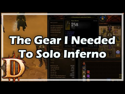The Gear I Needed To Solo Inferno