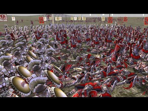 """Tactical Trolling"" Rome Total War MP battle #2204"