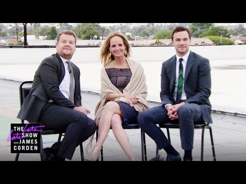 Chatting On The Rooftop with Helen Hunt and Nicholas Hoult