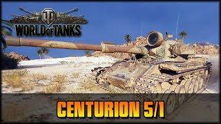 World of Tanks - Live: Centurion 5/1 Premium [ deutsch